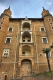 Palazzo Ducale in Urbino Royalty Free Stock Photography