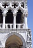 Palazzo ducale-v-Venetië-Italië Royalty-vrije Stock Fotografie