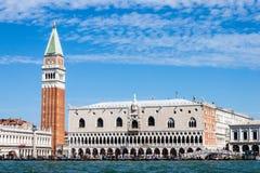 Palazzo Ducale van het doge` s paleis stock afbeelding