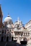 Palazzo Ducale van het doge` s paleis stock fotografie