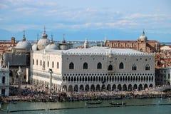 Palazzo Ducale, Venedig Stockbild