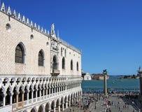 Palazzo Ducale in Venedig Italien lizenzfreie stockfotografie