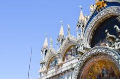 Palazzo Ducale in Venedig, Italien Stockbilder