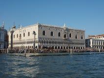 Palazzo ducale in Venetië stock foto's