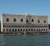 Palazzo ducale in Venetië stock afbeelding