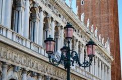 Palazzo Ducale in Venetië, Italië stock fotografie