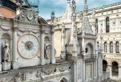 Palazzo Ducale a Venezia, Italia Fotografia Stock
