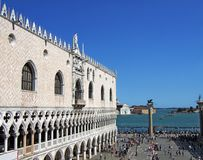 Palazzo Ducale a Venezia Italia fotografia stock libera da diritti