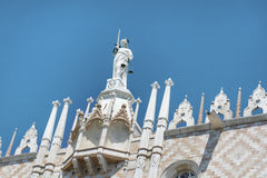 Palazzo Ducale, Venice, Italy-close up Stock Photos