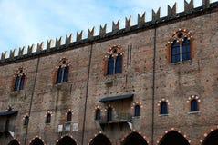 Palazzo-ducale von Mantova stockbilder