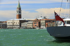 Palazzo Ducate, Piazza S. Marco,  Old Buildings, Venice, Venezia, Italy Royalty Free Stock Photo