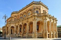 Palazzo Ducezio Foto de Stock
