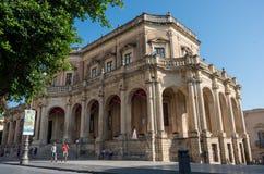 Palazzo Ducezio w Noto, Silicy wyspa, Włochy Zdjęcia Royalty Free