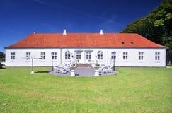 Palazzo e giardino Immagini Stock