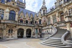 Palazzo e museo del benedettino in Fecamp Normandia Francia fotografia stock