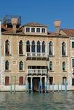 Palazzo en el canal magnífico Imagen de archivo