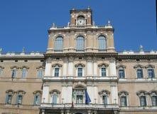 Palazzo en Módena Fotos de archivo