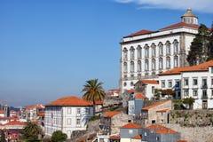 Palazzo episcopale a Oporto Immagine Stock Libera da Diritti