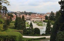 Palazzo Estense, stadshus av Varese Fotografering för Bildbyråer