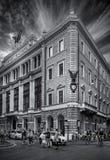 Palazzo före detta Unione Militare Royaltyfri Foto