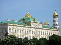 Palazzo famoso del Kremlin Fotografie Stock Libere da Diritti