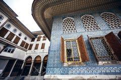 Palazzo famoso di Topkapi fotografie stock