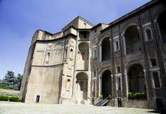 Palazzo Farnese法院在皮亚琴察,意大利 免版税图库摄影