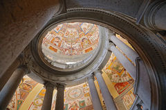 Palazzo Farnese的斯卡拉大剧院Regia 库存图片