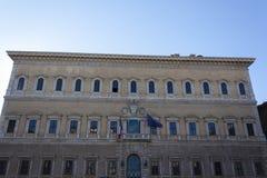 Palazzo Farnese - Rome Stock Photo