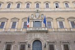 Palazzo Farnese, Rome, Italië Royalty-vrije Stock Afbeeldingen