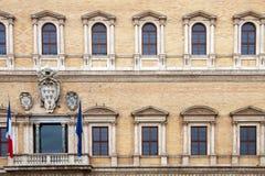 Palazzo Farnese, Rome - Italy royalty free stock photos
