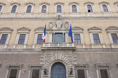 Palazzo Farnese, Rome, Italy Royalty Free Stock Images