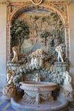 Palazzo Farnese rustic fountain in Loggia of Hercules