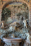 Palazzo Farnese rustic fountain in Loggia of Hercules Royalty Free Stock Photos