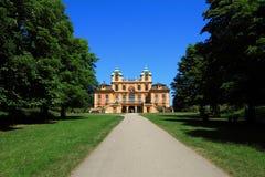Palazzo favorito di Schloss Ludwigsburg immagine stock