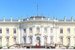Palazzo favorito di Schloss Ludwigsburg immagine stock libera da diritti