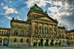Palazzo federale HDR Immagini Stock