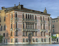 Palazzo Fontana Rezzonico Stock Image