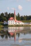 Palazzo in Gatchina, Russia del Priory. immagini stock