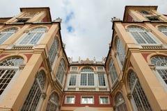 palazzo genoa зодчества стоковые изображения