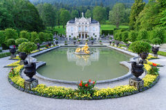 Palazzo 03, Germania di Linderhof Fotografia Stock