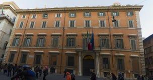 Palazzo giustiniani roma Stock Photography