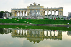 Palazzo Gloriette di Schonbrunn Fotografia Stock