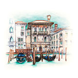 Palazzo on the Grand Canal in Venice, Italia Royalty Free Stock Image