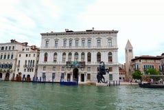 Palazzo Grassi: Contemporary Art stock photography