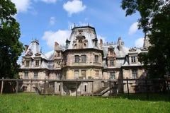 Palazzo in Guzow Fotografie Stock