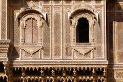 palazzo Haveli-privato in India Immagini Stock
