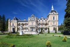 Palazzo Hermesvilla nel Lainzer Tiergarten Vienna, Austria Immagine Stock