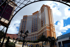 Palazzo Hotel and Casino, Las Vegas. Royalty Free Stock Image