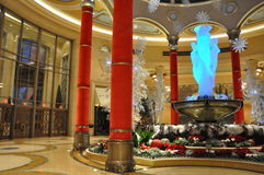 The Palazzo Hotel and Casino in Las Vegas Royalty Free Stock Images
